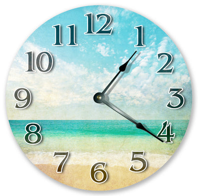 Artis Tic Beach Handmade Hanging Wall Clock