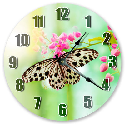 Butterfly Home Decor Handmade Hanging Wall Clock