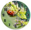 Pretty Love Bug Handmade Hanging Wall Clock