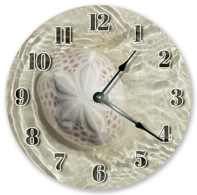 Clear Beach Water Handmade Hanging Wall Clock