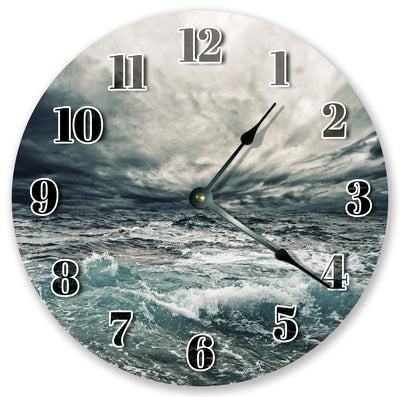 Sea Cyclone Handmade Hanging Wall Clock