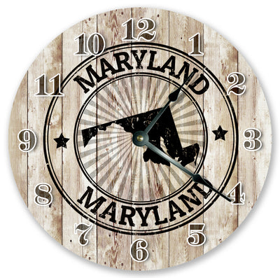 New Hampshire Stamp Home Decor Hand Made Wall Clock
