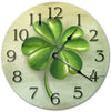 Clover Leaf Painting Home Decor Handmade Wall Clock
