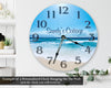 Yacht Ferry Board Handmade Hanging Wall Clock