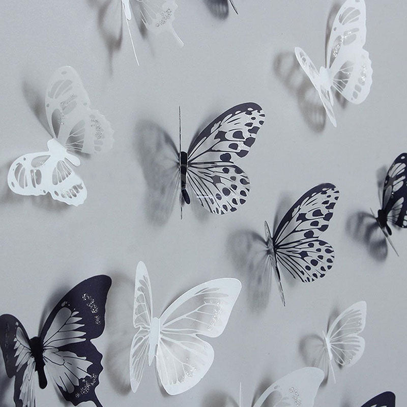 3D Crystal Butterfly Wall Stickers