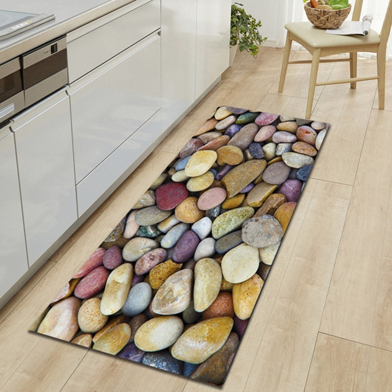 Modern Stones Design Room Carpet
