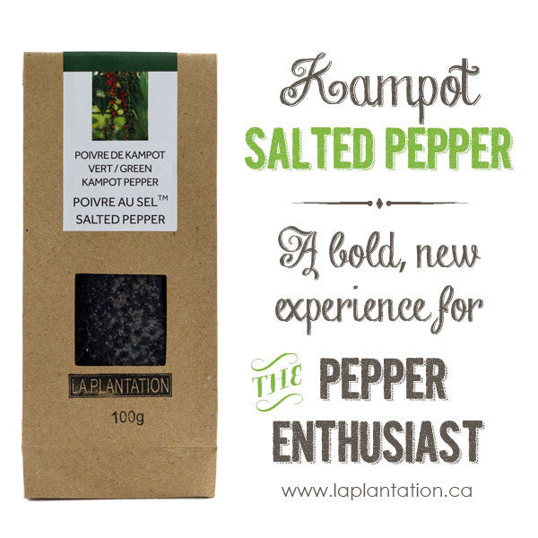 Spice up your life at Le Vrac du Marche while sampling our Salted Pepper!