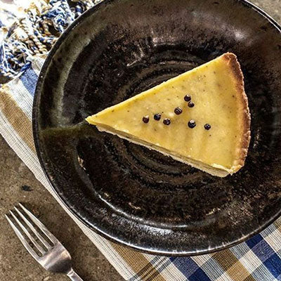 Lime and White Pepper Pie