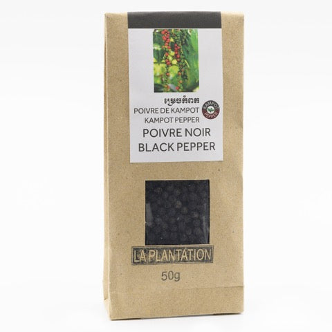Kampot Organic Black Pepper 50g