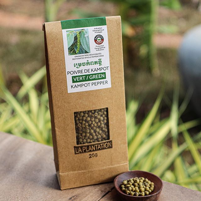 Green Kampot Pepper 25g