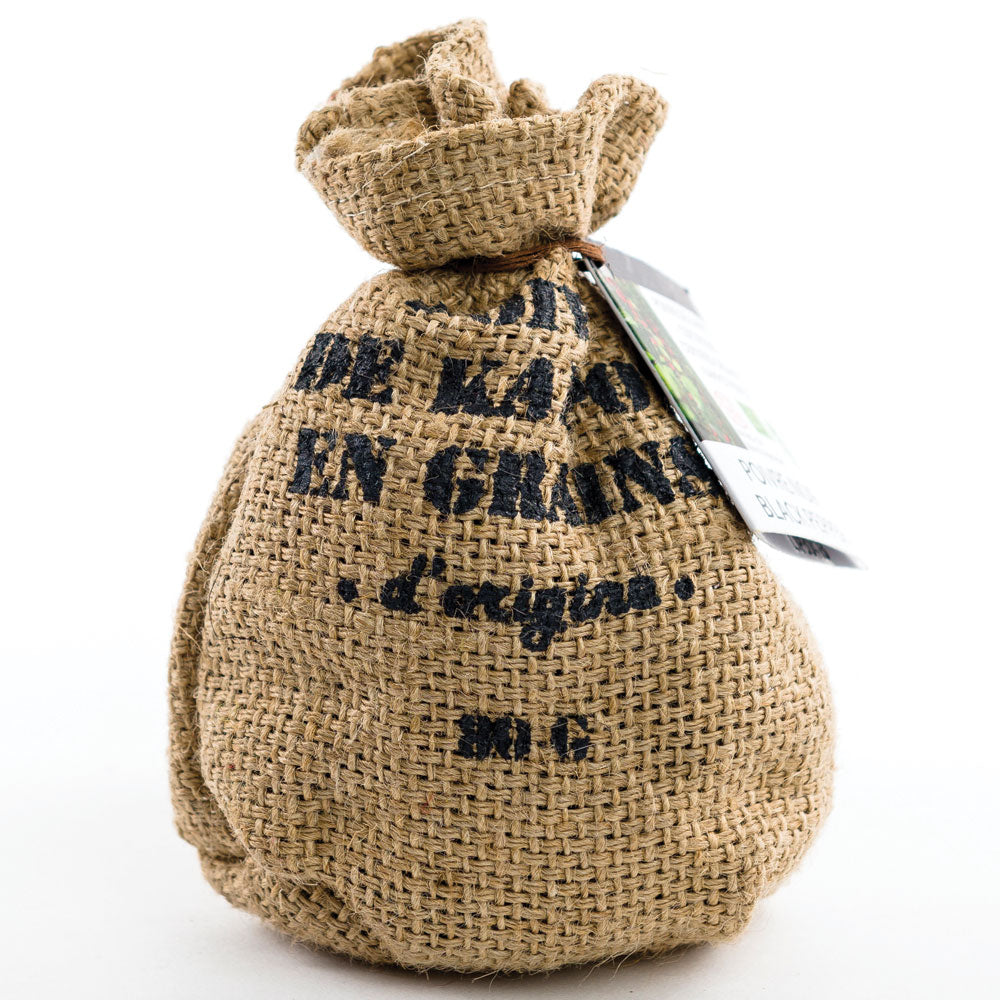 Black Kampot Pepper in Jute Bag 80g