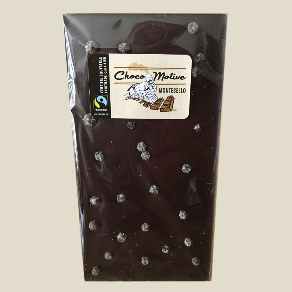 Dark Chocolate Tablet with Kampot Salted Pepper