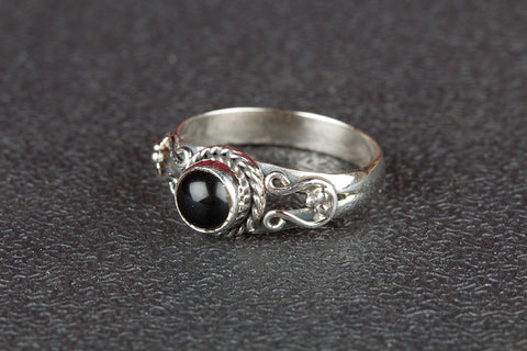 Black Onyx Ring 925 Silver Dainty Ring Casual Ring Bohemian Ring Classic Design Ring Elegant Ring Chunky Ring Statement Ring Party Wear Ring Gift Her