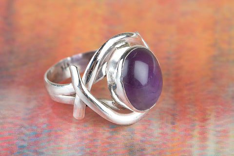 Wonderful Gemstone Sterling Silver Ring