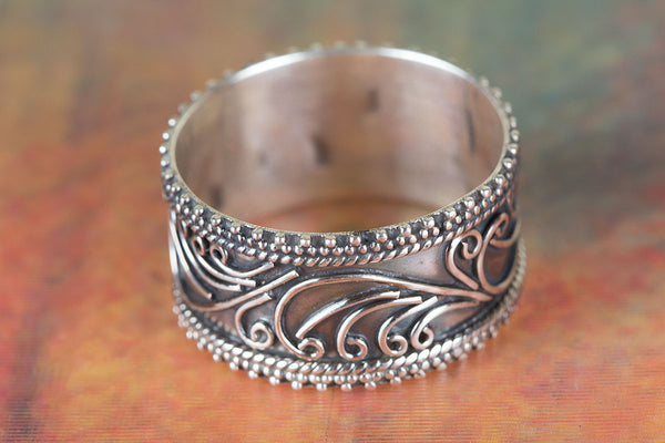 Genuine Pure Sterling Silver Ring
