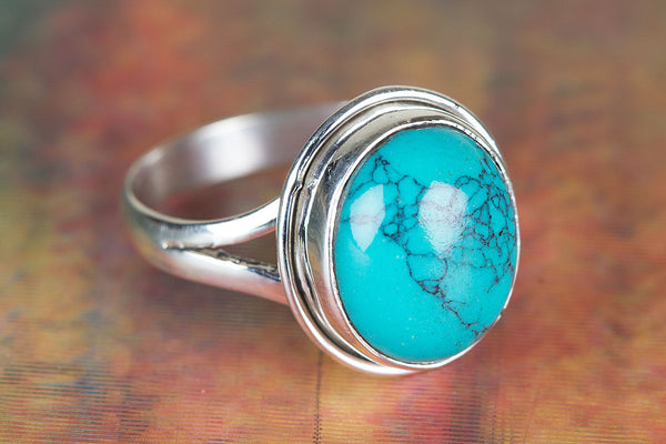 Turquoise Ring 925 Silver Pretty Love Ring Inspirational Ring Latest Design Ring Party wear Ring Exclusive Ring Elegant Ring Relationship Ring Gift Her