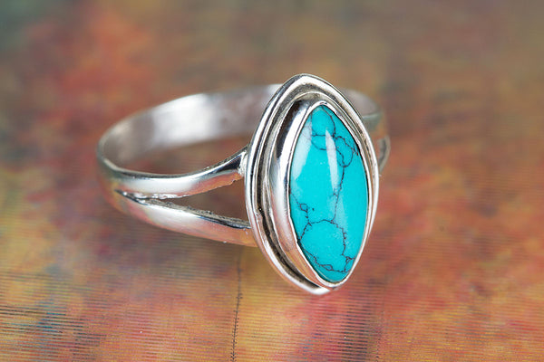 Turquoise Ring 925 Silver Attractive Ring Trendy Ring Rare Ring Modern Designer Ring Occasion Ring Bride Ring Love Ring Statement Ring Yoga Ring Wedding Ring Gift Her.