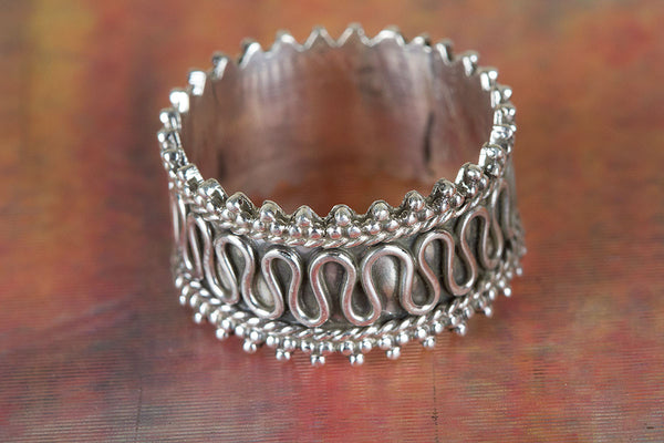 Wonderful Sterling Silver Ring Challa