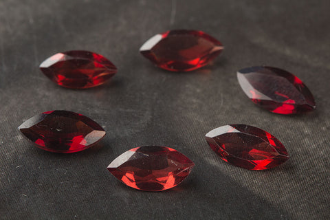 Wholesale Marquise Shape Faceted Garnet Gemstone , 8 x 4 mm Gemstone, Red Marquise 8 x 4 mm Gemstone, Natural Gemstone, Jewelry Supplies, Gemstone Supplies