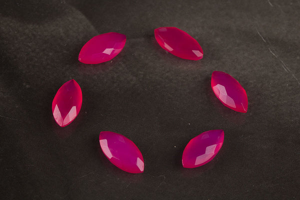 Marquise Shape 14 x 7 mm Gemstone, Marquise Shape Faceted Pink Chalcedony Gemstone, Natural Gemstone , 14 x 7 mm Gemstone, Jewelry Supplies, Gemstone Supplies