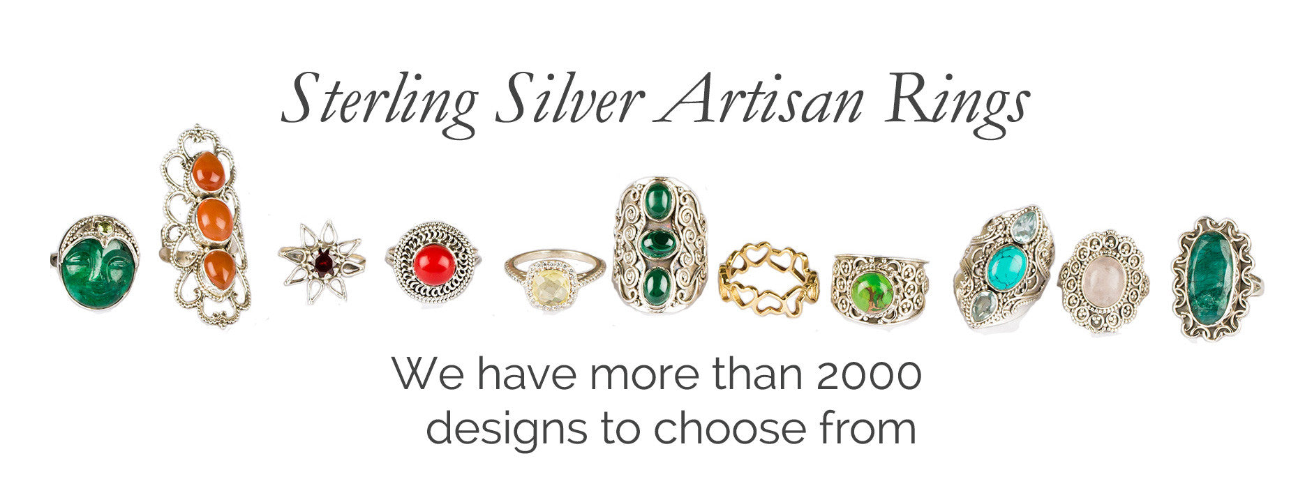 Sterling Sliver Artisan Rings
