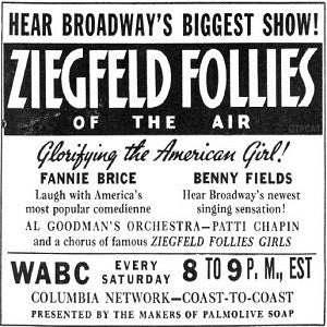 Ziegfeld Follies Of The Air