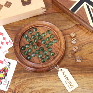Cholang Solitaire Board Game Set