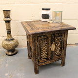 Maravi 45cm Hand Carved Moroccan Style Table