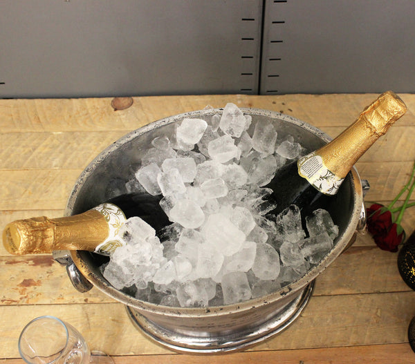 Oval Vintage Champagne Ice Bucket