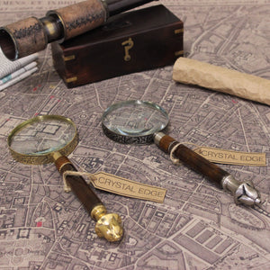 Pune Vintage Magnifying Glass Filigree Handle