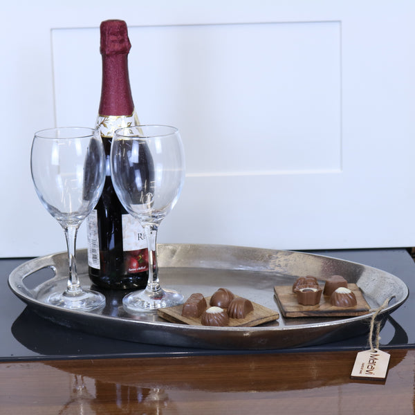 Rauli Oval Butlers Serving Tray 40cm