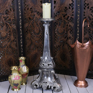 Vintage Baroque 70cm Candle Stand