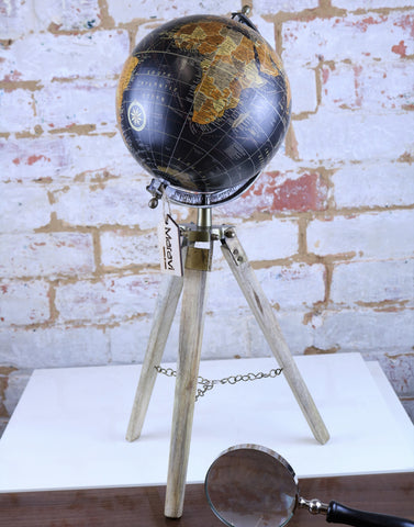 Potta World Globe with Tripod Stand