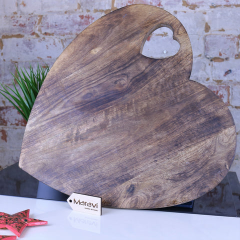 Dili Heart Shape Chopping Board 40cm