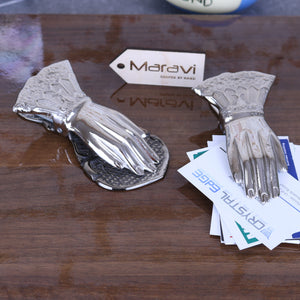 Nalot Set of 2 Hand Shaped Large Paper Clip