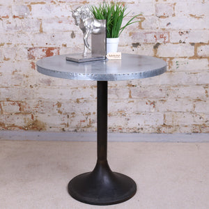 Hatra Industrial Style Metal Side Table 55cm