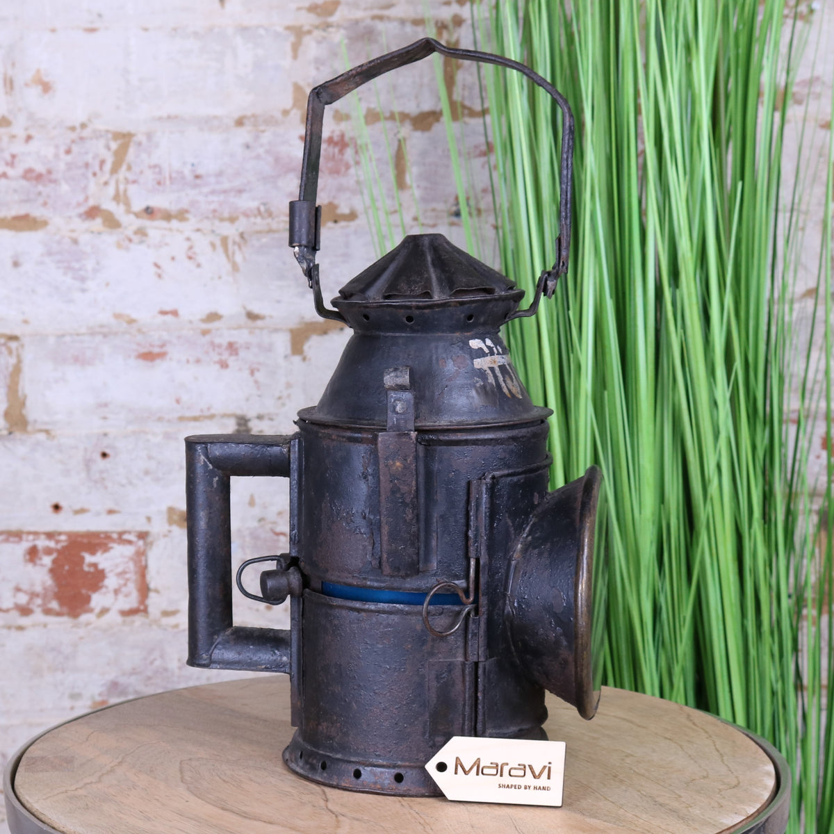 Vintage Indian Railway Lantern