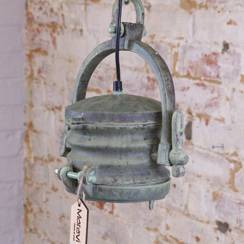Intur Pendant Spotlight Dockyard Antique Finish