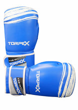Load image into Gallery viewer, TXB Blue/White Boxing Gloves