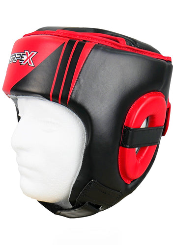 Black/Red Head Guard