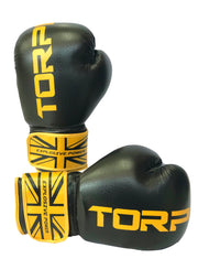 Black / Gold Boxing Gloves