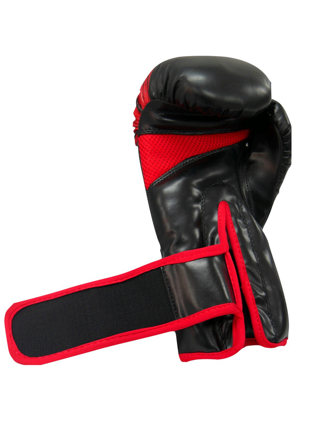 TXB Black/Red Boxing Gloves