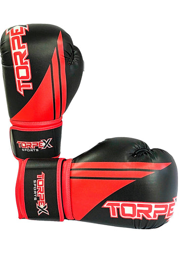 Black/Red Boxing Gloves