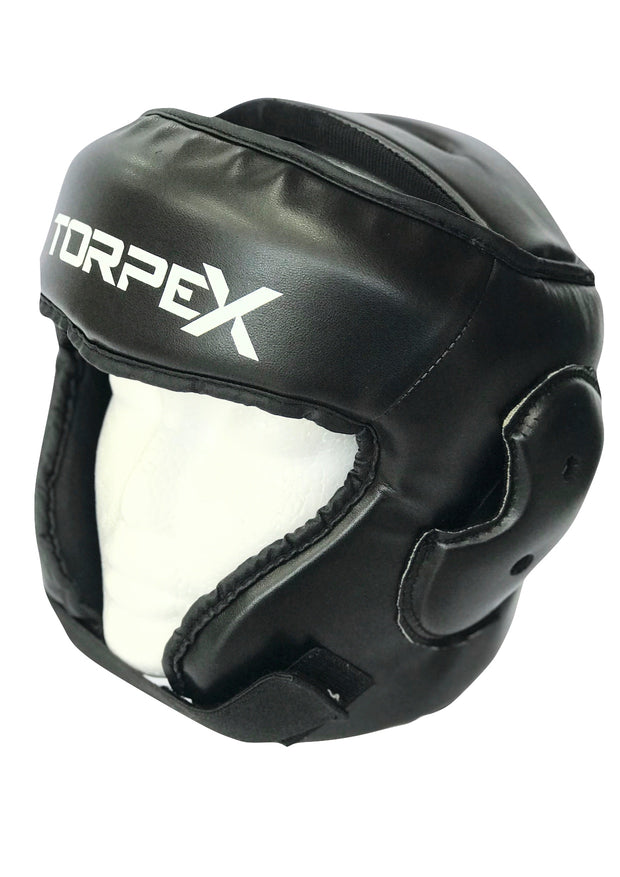 Black Headguard / Semi Contact