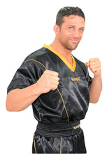 Load image into Gallery viewer, Black/Gold Kickboxing Uniform