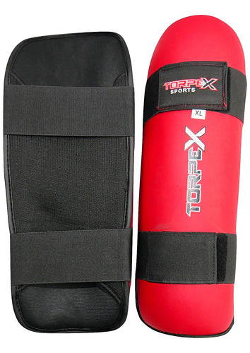 Red Edition Shin Guards