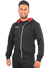 Load image into Gallery viewer, Black Torpex Zip Hoodie