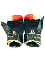 Load image into Gallery viewer, Red, White & Gold Bag Gloves