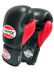 TXLR-14 Black & Red Cowhide Leather Gloves