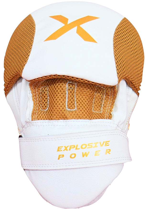 White / Gold Focus Pads